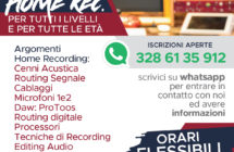 Corso di – Home Recording –